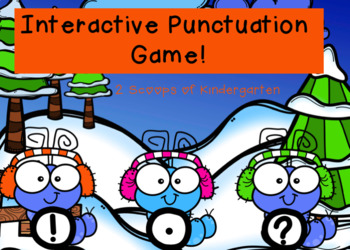 Interactive Winter Punctuation Power Point Game (Audio Included)