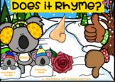 Interactive Winter Rhyming (Koala theme)