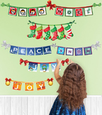 Interactive Winter Signs Wall Play Set