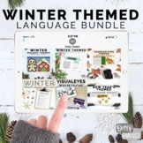 #dec2018slpmusthave Interactive Winter Themed Language Bundle (GROWING-no print)