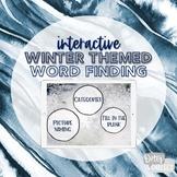 Interactive Winter Word Finding [NO Print, NO Prep!]
