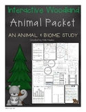 Interactive Woodland Animals Packet