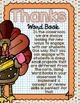 Thanksgiving Activity | THANKS Word Book | Thanksgiving Flip Book