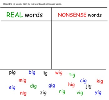 Interactive Word Families FULL Version