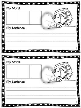 Interactive Word Family Book: -an