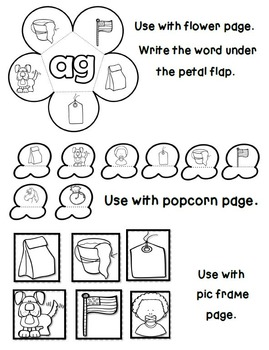 Interactive Word Family Booklets (Short A Edition)