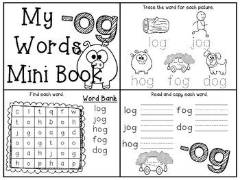 Short O Interactive Mini Books