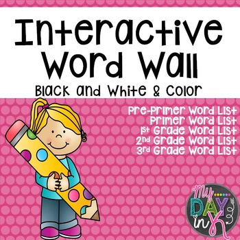 Interactive Word Wall