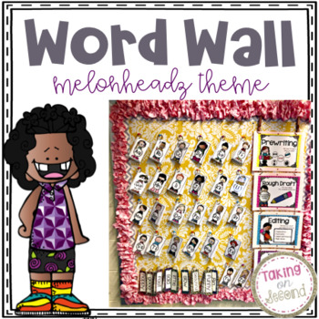 Interactive Word Wall {Melonheadz Theme}