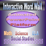 Interactive Word Wall Powerpoint Platform