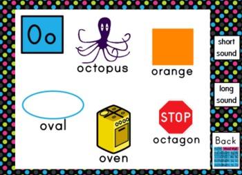Interactive Word Wall Smartboard Activity - SMART Notebook