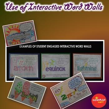 Interactive Word Wall * Zodiac Signs * No Prep