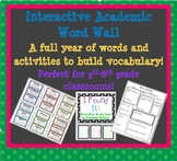 Build Student Vocabulary - Interactive Word Wall and Activities