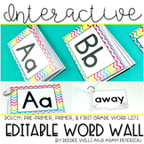 Interactive Word Wall (editable)