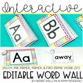 Interactive Word Wall (editable)