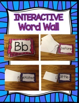 Interactive Word Wall with Dolch Sight Words