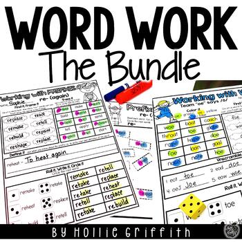 Interactive Working with Words BUNDLE