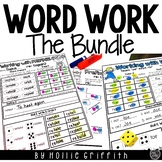 Word Work BUNDLE | Distance Learning