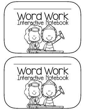 Interactive Word Work Notebook