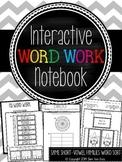 Interactive Word Work Notebook *Same Short-Vowel Families*