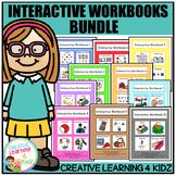 Interactive Workbook Bundle (10 Books) Autism Special Education