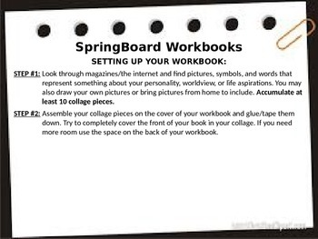 Interactive Workbook Setup Activity