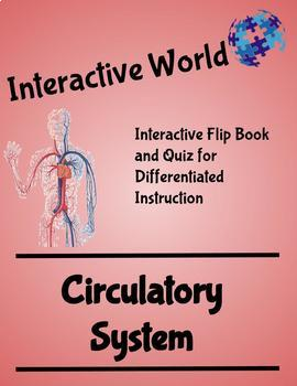 Interactive World Interactive Flip Book and Quiz - The Circulatory System