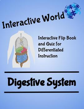 The Digestive System Interactive Flip Book and Quiz