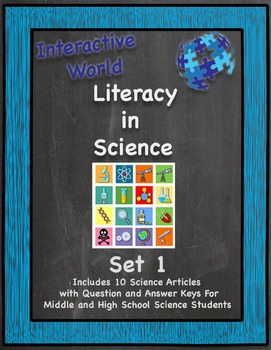 Interactive World Literacy in Science - Set 1