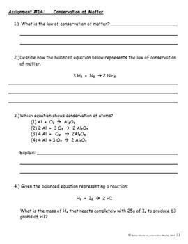 Interactive World Matter Homework Bundle - Enrichment, Reinforcement and Review