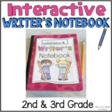 Interactive Writer's Notebook for 2nd and 3rd grade(The Write Stuff)