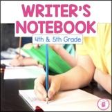 Writer's  Notebook {Gr 4-5}