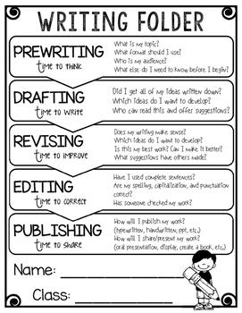 Interactive Writing Folders