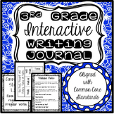 Interactive Writing Journal (3rd Grade-Common Core!)