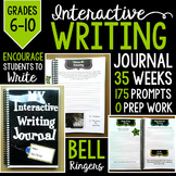 Interactive Writing Journal: Grades 6-10 Full year (35 weeks)