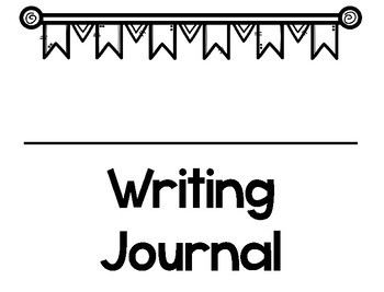 Interactive Writing Journals BLANK