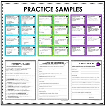Interactive Writing Notebook Grade 6 with ALL Common Core Writing Standards