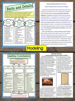 Interactive Writing Notebook Grade 8 with ALL Common Core Writing Standards