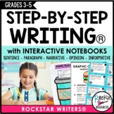 Interactive Writing Notebook Program | STEP-BY-STEP WRITING®