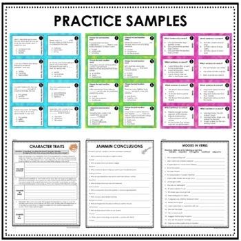 Interactive Writing Notebook Grades 6-8 BUNDLE