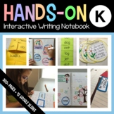 Interactive Writing Notebook Kindergarten Common Core with Scaffolded Notes