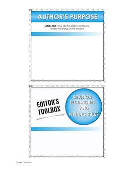 Interactive Writing Notebook Resource aligned with Common Core