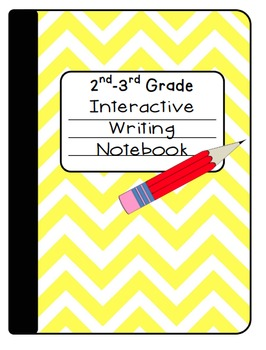 Interactive Writing Notebook for 2nd-3rd Grade