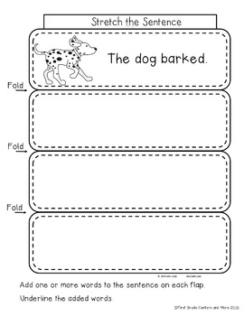 Interactive Writing Notebook for First Grade {Sampler}
