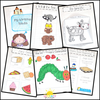 Interactive Writing Notebook for the Primary Grades {Free Gift With Purchase!}