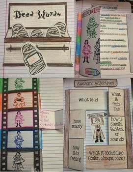 Writing Interactive Notebooks: Writing Activities {Interactive Writing Notebook}