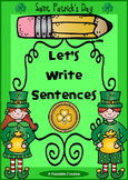Interactive Writing Pack - St. Patrick's Day {Freebie}