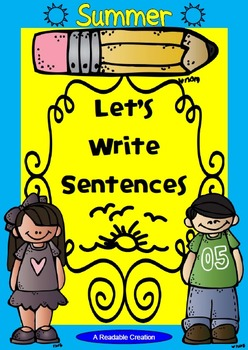 Interactive Writing Pack - Summer