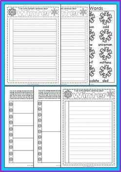 Interactive Writing Pack - Winter