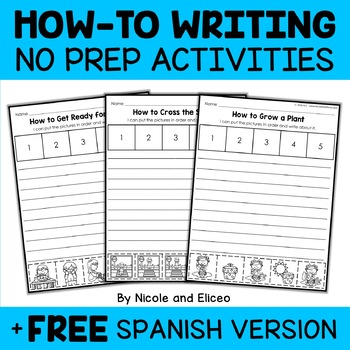 Interactive Writing - Procedural How To Writing